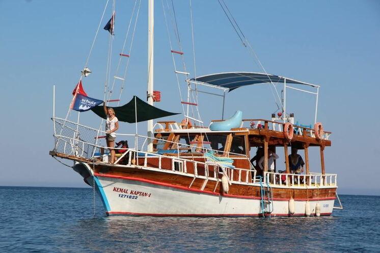 Von der Sazak Bucht nach Adrasan mit dem Boot