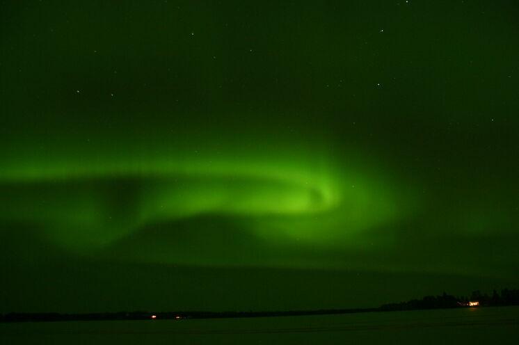 Wir wünschen Ihnen, dass auch Sie Polarlichter sehen werden.