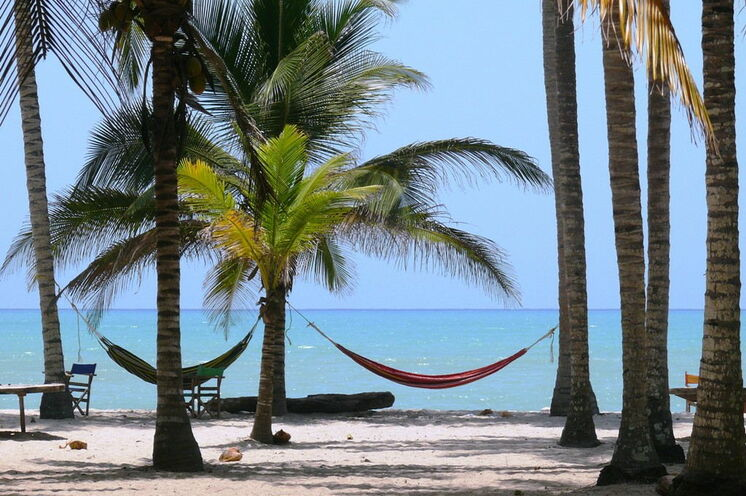 Entspannen am Karibikstrand
