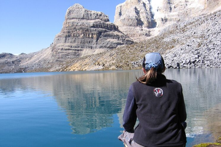 Der höchste Punkt im Cocuy-Nationalpark ist die Lagune Grande de la Sierra (4510 m)