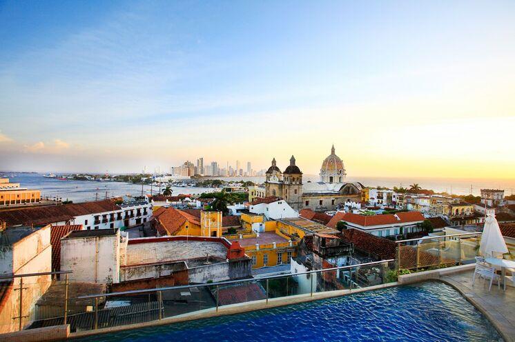 """Krönender Abschluss der Reise ist Cartagenas de las Indias, die """"Perle der Karibik"""""""