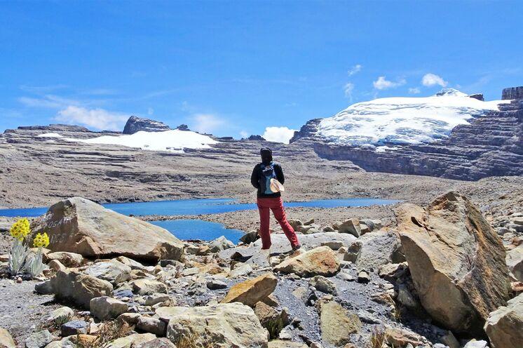 Faszinierende Gletscherwelt und Hochgebirgslagunen erwartet die Trekker im Cocuy-Nationalpark