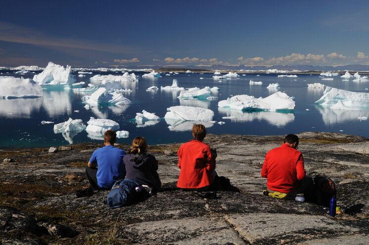 Ilulissat-Eisfjord (UNESCO-Weltnaturerbe) – kann es einen aufregenderen Rastblick geben?