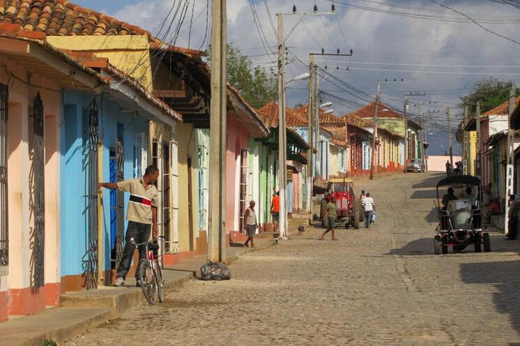 Im Kolonialstädtchen Trinidad scheint die Zeit stehengeblieben zu sein.