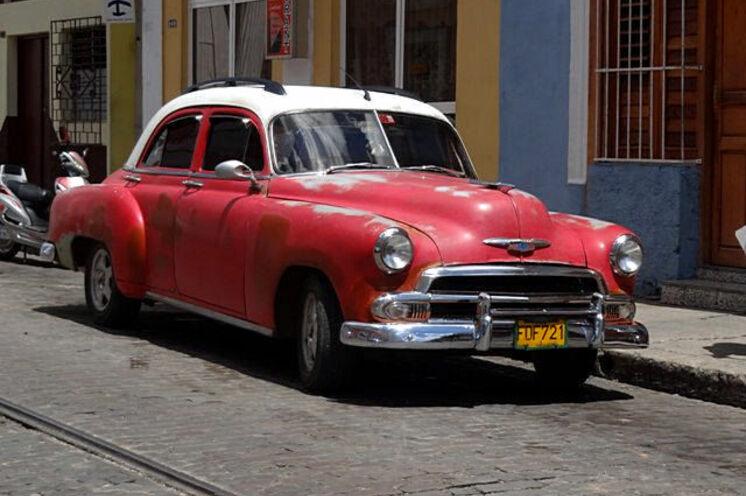 Ganz Kuba ist ein Augenschmaus für Liebhaber von alten Autos.