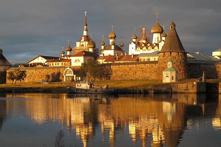 Eines der Höhepunkte dieser Reise, die Solowezki-Insel mit dem berühmten Kloster.