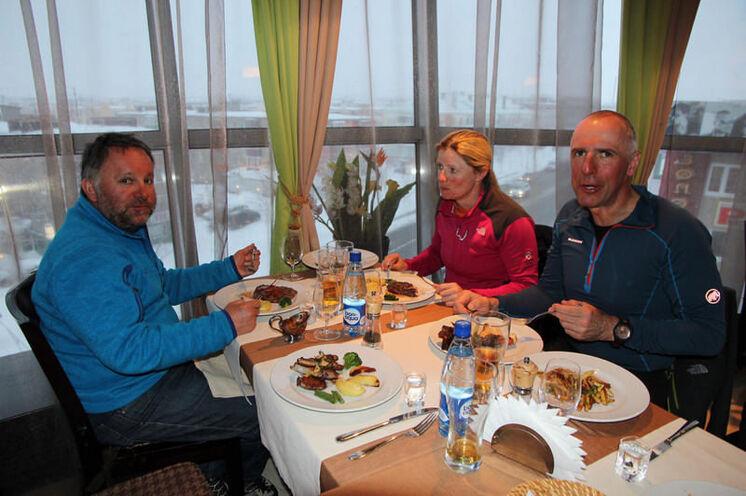 Ein (sehr) gutes Essen in Petropavlovsk...