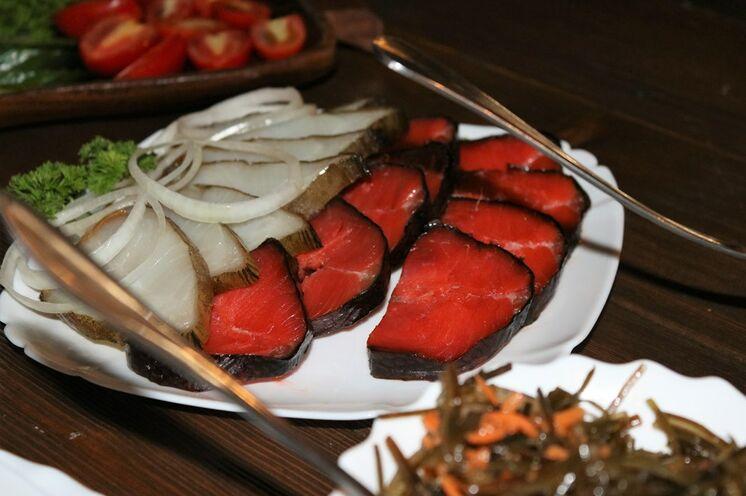 Lachs und Kaviar essen Sie auf Kamtschatka in wohl weltweit bester Qualität!