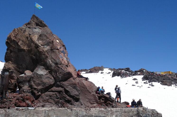 Am Elbrus erfahren Sie einen neuen Höhenreiz, indem Sie bis an die 4000 m Höhenmarke wandern.