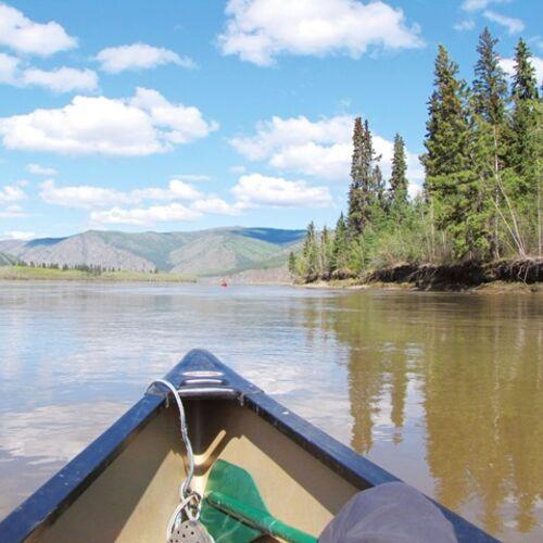 Kanuerlebnis auf dem Yukon River
