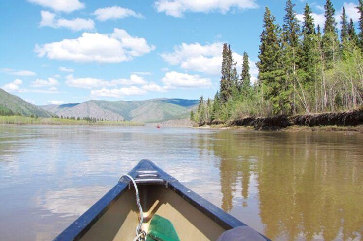 Kanuabenteuer: Auf dem Yukon River von Whitehorse nach Dawson City