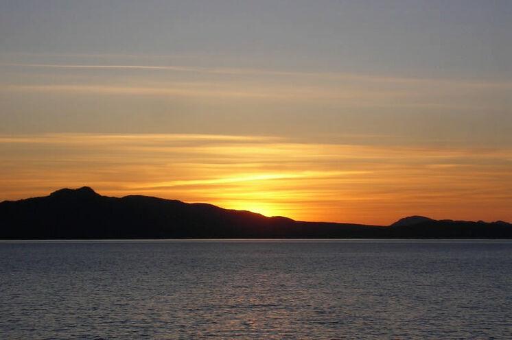 Abendstimmung am Yukon River
