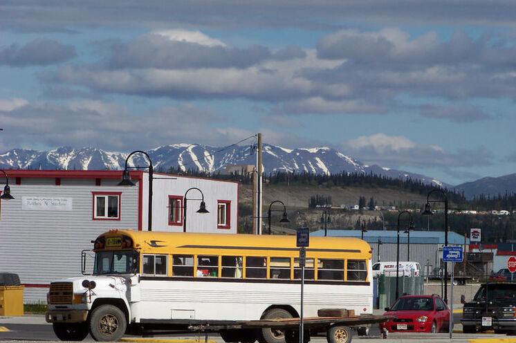 Ankunft an Ihrem Zielort: Dawson City