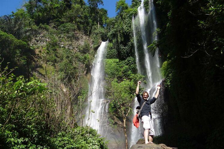 Wanderung zum Sekumpul-Wasserfall mit erfrischendem Badeaufenthalt
