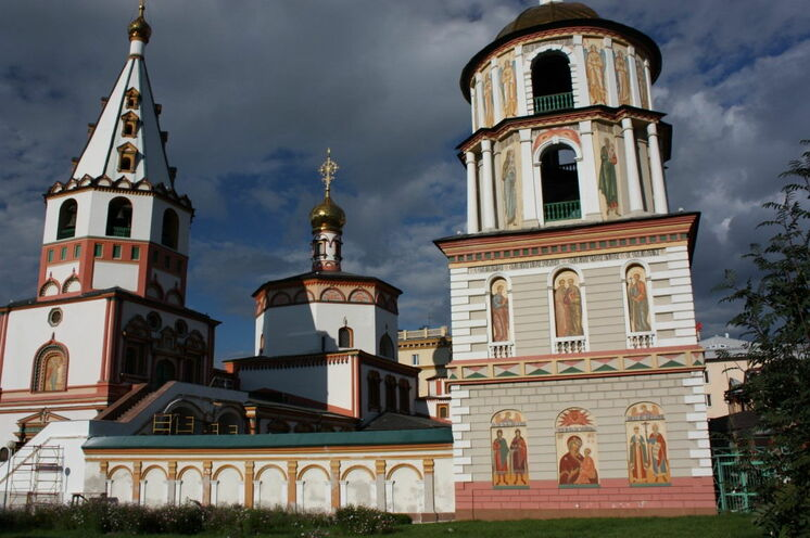Eine Kirche in Irkutsk