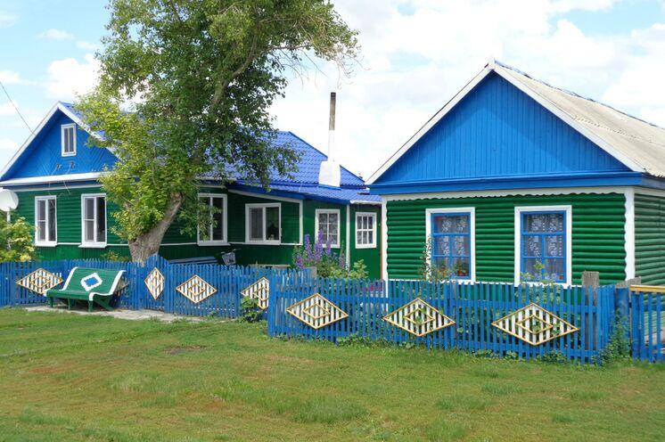 Im Dorf Alexandrowka