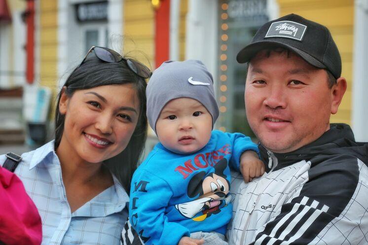 Begegnungen: Eine burjatische Familie in Irkutsk