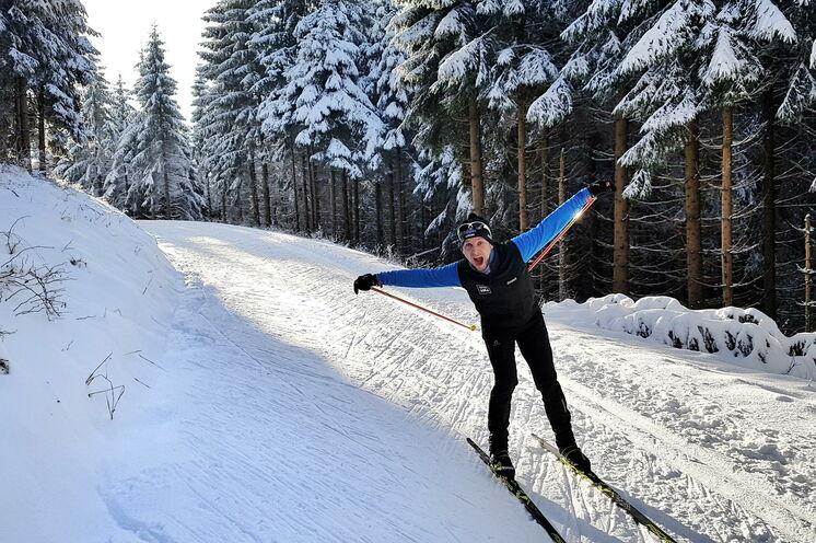 Ein traumhafter Winterwald mit idealen (Natur-) Schneebedingungen erwartet Sie mit etwas Glück bei entsprechender Schneelage