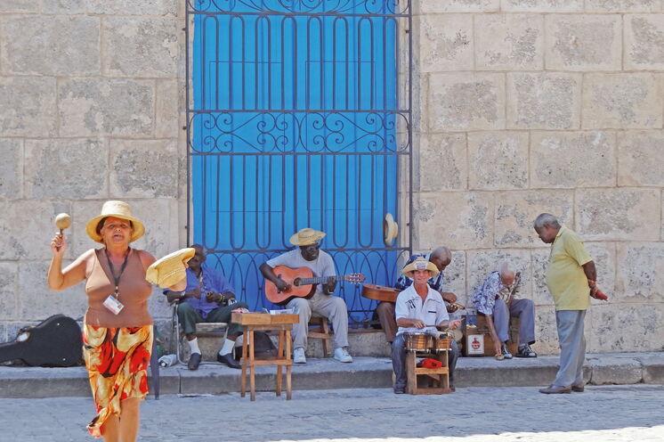 An jeder Ecke begegnet Ihnen die Lebensfreude Kubas
