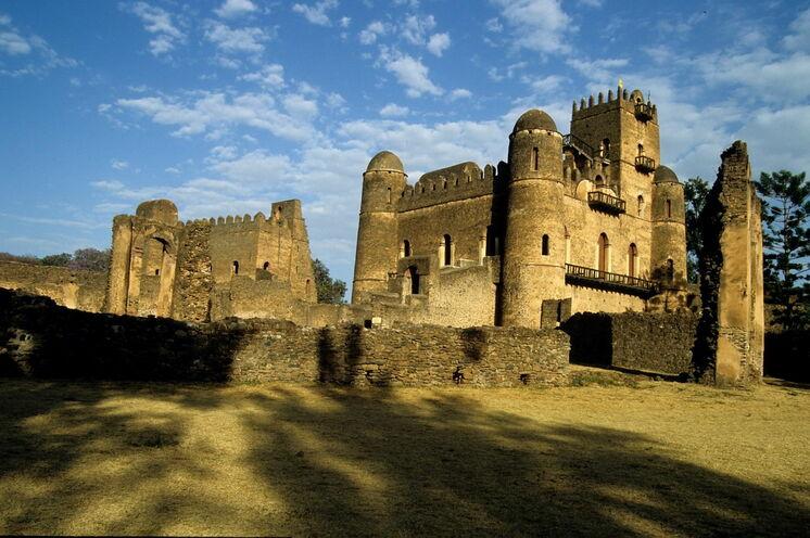 Die alte Kaiserstadt Gondar.