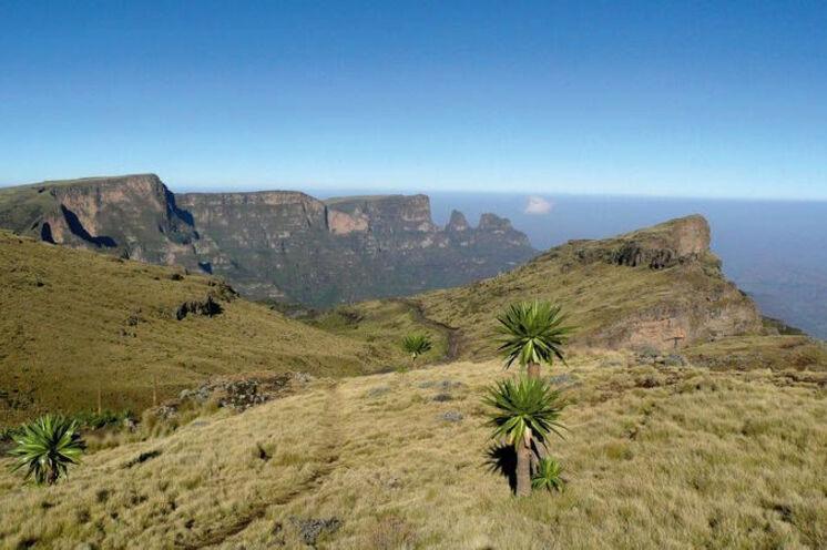 """Aussichten im Semien-Gebirge - auch bekannt als """" Dach Afrikas"""""""