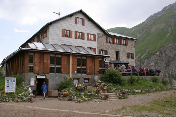 2. Tag Kemptner Hütte