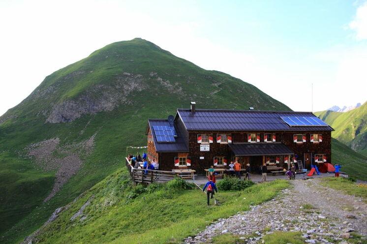 3. Tag Memminger Hütte.