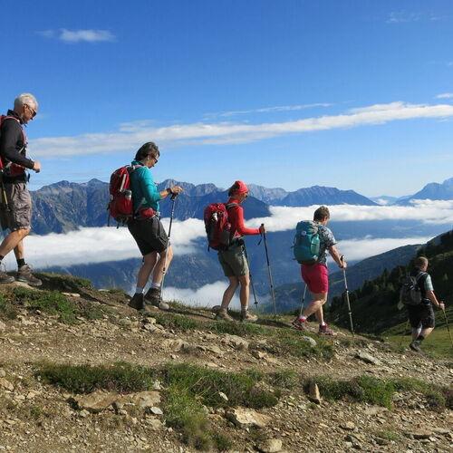 Alpenüberquerung von Oberstdorf nach Meran (Hüttenvariante)