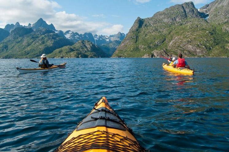 Mit dem Seekajak zum Trollfjord