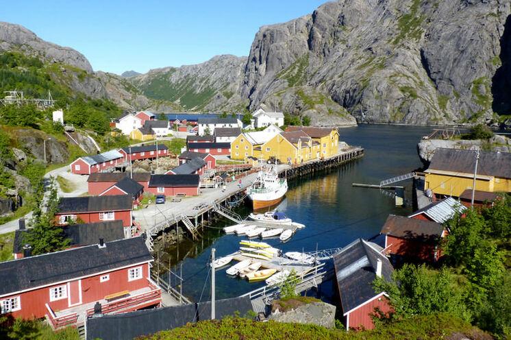 Beinahe wie ein Freilichtmuseum – das pittoreske Fischerdorf Nusfjord