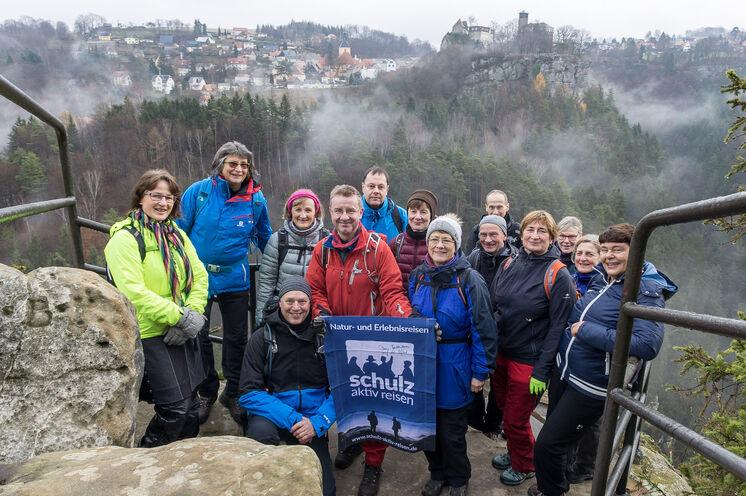 Unsere Wandergruppe im Dezember 2019