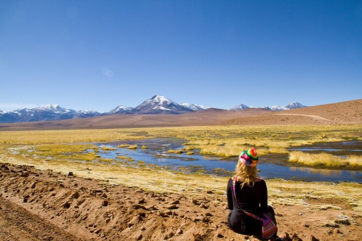 Auf Ihrer Erlebnisreise durch Südamerika durchfahren Sie die Altiplano (Hochebene)