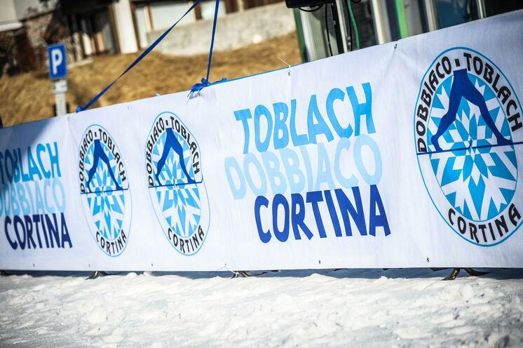 Der Skimarathon von Toblach nach Cortina d'Ampezzo ist ein landschaftlicher Leckerbissen
