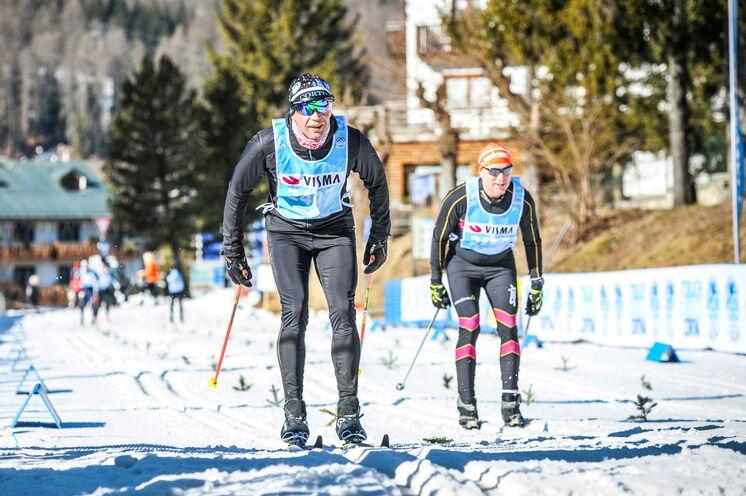 Die letzten 12 km geht es bergab bis ins Ziel im Olympiort von 2026 Cortina.