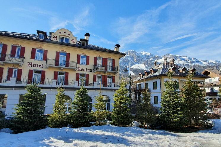 In Cortina erwartet die Läufer eine wunderschöne und prächtige Kulisse