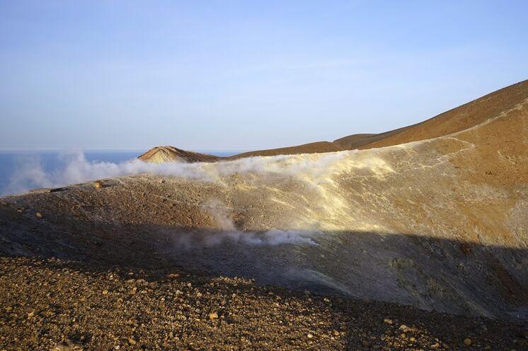 Der Gran Cratere auf Vulcano