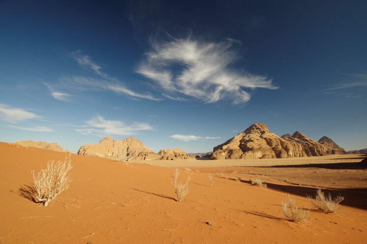 Sie erleben die Weiten des Wadi Rum in seinen märchenhaften Farben!