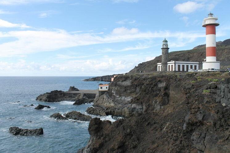 Der Leuchtturm von Fuencaliente an der Südspitze La Palmas