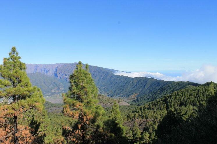 Blick auf die Cumbre Nueva