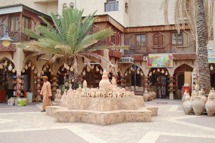 Der MArkt in Nizwa ist besonders für seine Töpferwaren bekannt