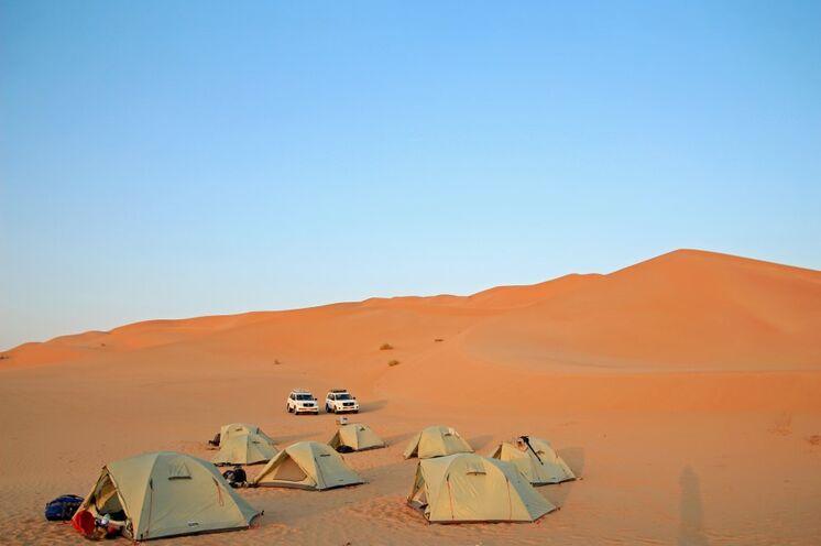 """Ihr """"mobiles"""" Zeltcamp in der Wüste"""