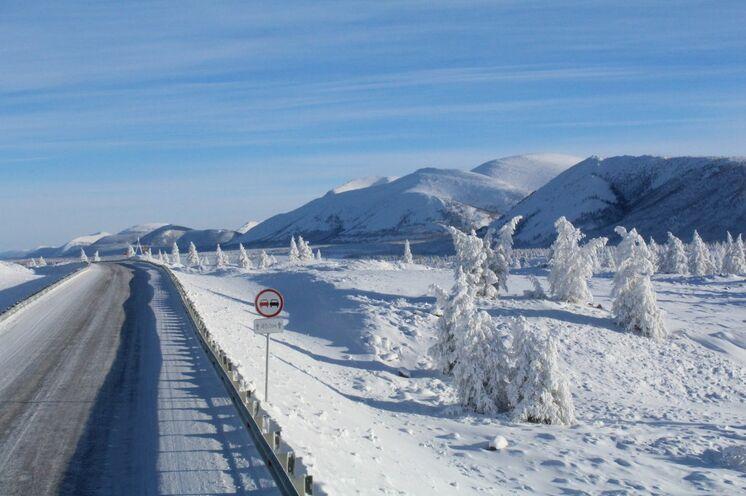 Lang sind die Fahrtage, doch wohltuend für Auge und Seele die märchenhafte Winterlandschaft.