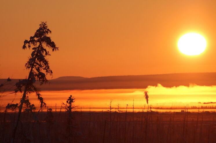 Spektakuläre Sonnenauf- und -untergänge werden Sie auf dieser Reise begleiten.