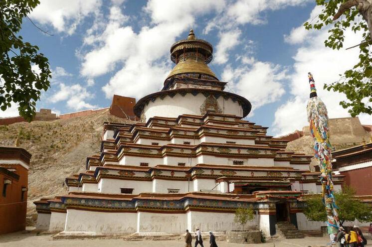 Kumbum im Pelkhor-Kloster von Gyantse
