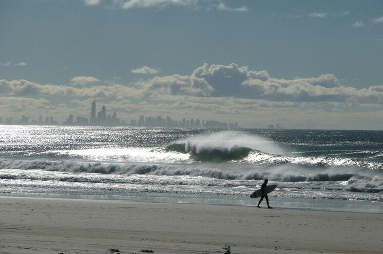 Blick auf Surfers Paradise