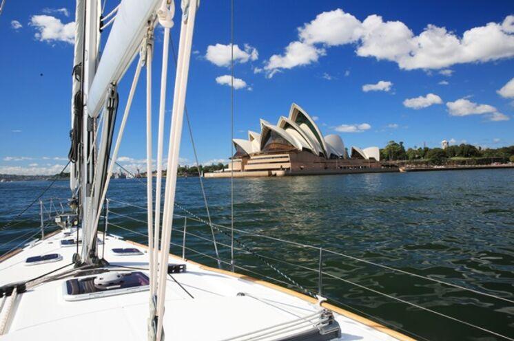 Sydneys Opernhaus, eines der Wahrzeichen dieser Weltstadt