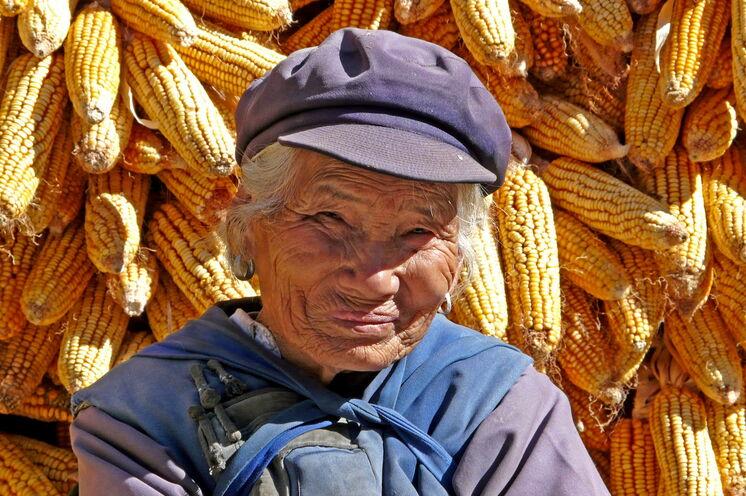 Die Gegend um Lijiang ist die Heimat der ethnischen Minderheit der Naxi