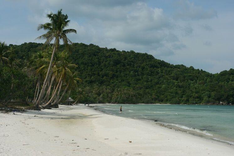 Abschluss der Reise bilden die Traumstrände der Insel Phu Quoc