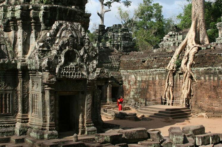Tempel Tha Phrom in Angkor Wat
