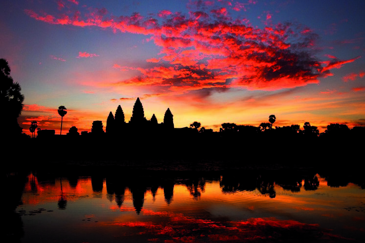 Angkor, den größten Schatz Kambodschas, erkunden Sie ausgiebig per Rad